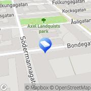 Karta A4 Stockholm, Sverige