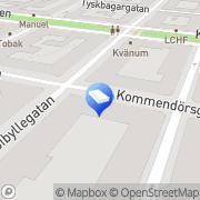 Karta Hestia Konsult Stockholm, Sverige