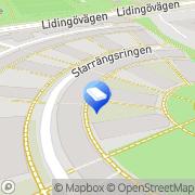 Karta Venge Consulting Stockholm, Sverige