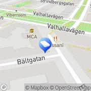Karta Leif Furhammar Filmkonsult Stockholm, Sverige