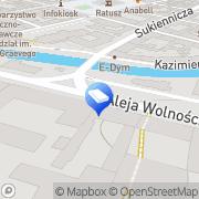 Mapa Wojnarowski Marian, adwokat Kalisz, Polska