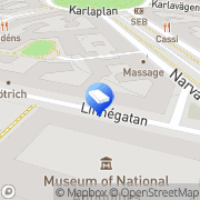 Karta ISI Wissing Stockholm, Sverige