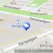 Karta Robcon Konsult Stockholm, Sverige