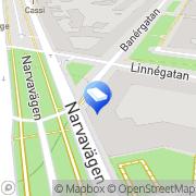 Karta H G Forsberg Konsult AB Stockholm, Sverige