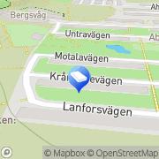 Karta Staffan Thurfjell Gods & Persontransport Stockholm, Sverige