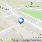 Karta Allmänna Flytt & Express Stockholm, Sverige