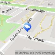 Karta Fasadpartner AB Stockholm, Sverige