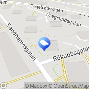 Karta Brf Oporto 6 Stockholm, Sverige