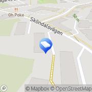 Karta Lindvalls Fastighetsservice, Stockholm Stortorp, Sverige