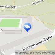 Karta Waldofförskolan Solvändan Sticklinge, Sverige
