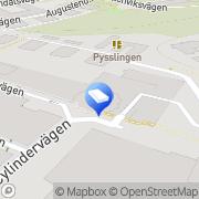 Karta Stockholms Byggnadsställningar AB Lilla Nyckelviken, Sverige