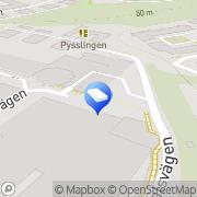 Karta Nacka Strands Skola, Pysslingen Förskolor och Skolor AB Lilla Nyckelviken, Sverige