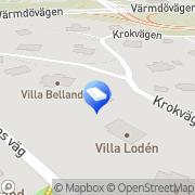 Karta Lumble AB Nacka, Sverige