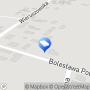 Mapa Piędzioch Grzegorz. Transport Chotynin, Polska