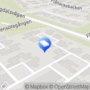 Karta Gowans Web Services Tyresö, Sverige