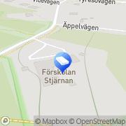 Karta Qvalitetsförskolan Stjärnan Tyresö, Sverige