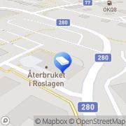 Karta Ebbotdata Rimbo, Sverige