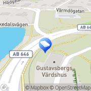 Karta Miljövision Gustavsberg, Sverige