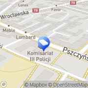 Mapa It Prof. Services Gliwice, Polska