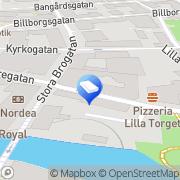 Karta Wallins Begravningsbyrå Norrtälje, Sverige