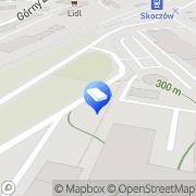 Mapa Transkom Sp. z o.o. Skoczów, Polska