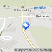 Mapa Delta Consulting Sp. z o.o. Katowice, Polska