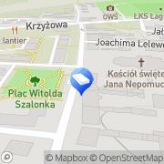 Mapa Firma Kołodziej Bytom, Polska