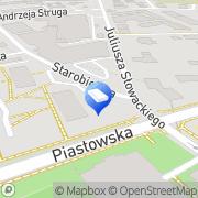 Mapa Archid Bielsko-Biała, Polska