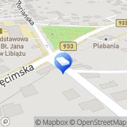 Mapa Piotrowski Piotr. Pogrzeby Libiąż, Polska