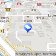 Mapa Firma Ogólnobudowlana Piotr Lewandowski Andrychów, Polska