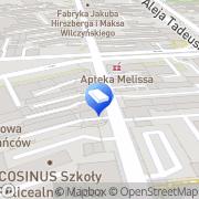 Mapa Sękowski A. i Partnerzy. Kancelaria sp.k. Łódź, Polska