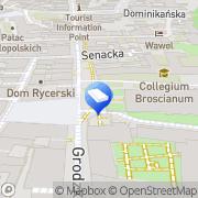 Mapa Zoll Wiesława, adwokat Łęg, Polska