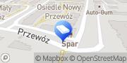 "Mapa Biuro Projektów ""Szachmat"" Sebastian Matejko Kraków, Polska"