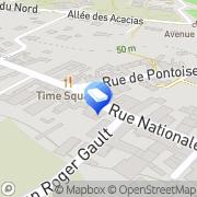 Carte de Mairie Cergy, France