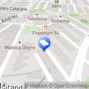Map Mudanzas Y Portes Cornella Cornellà de Llobregat, Spain