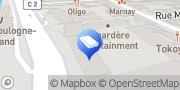 Carte de Une Pièce en Plus Boulogne Paris, France