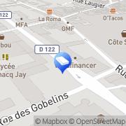 Carte de Allo Pressing Argenteuil, France