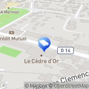 Carte de Key et Planchon Sannois, France