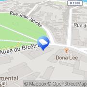 Carte de L'Orée de La Hotoie Amiens, France