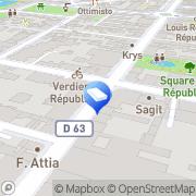 Carte de Art du Verger Montrouge, France