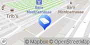 Carte de Une Pièce en Plus Paris 14 - Montparnasse Paris, France