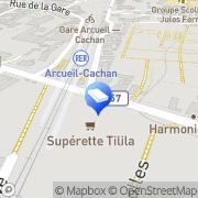 Carte de Tilila Cachan, France
