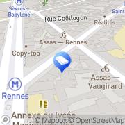 Carte de Syndicat Copropriétaires Paris, France