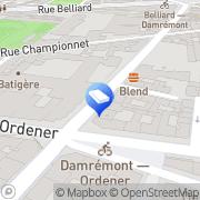 Carte de Adsp Agencement Depannage Service Protection Paris, France