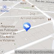 Carte de PECLERS PARIS Paris, France