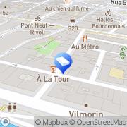 Carte de Tendances Paris, France