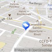 Carte de Blue Spirit Studio Paris, France
