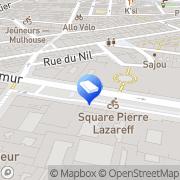 Carte de Beren Diffusion Paris, France