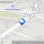 Carte de Montmagny - 95360 Montmagny, France