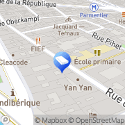 Carte de PROMOSTYL Paris, France